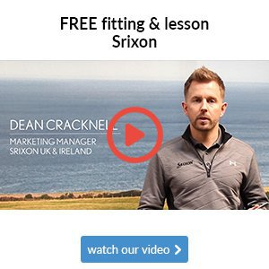Get a free fitting & lesson with Srixon equipment